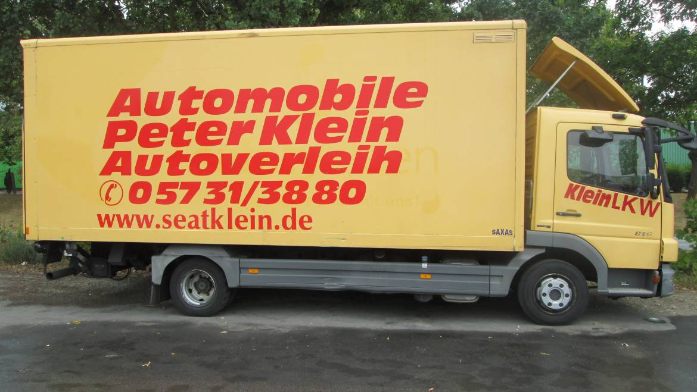 Mercedes Atego – LKW 7.5t